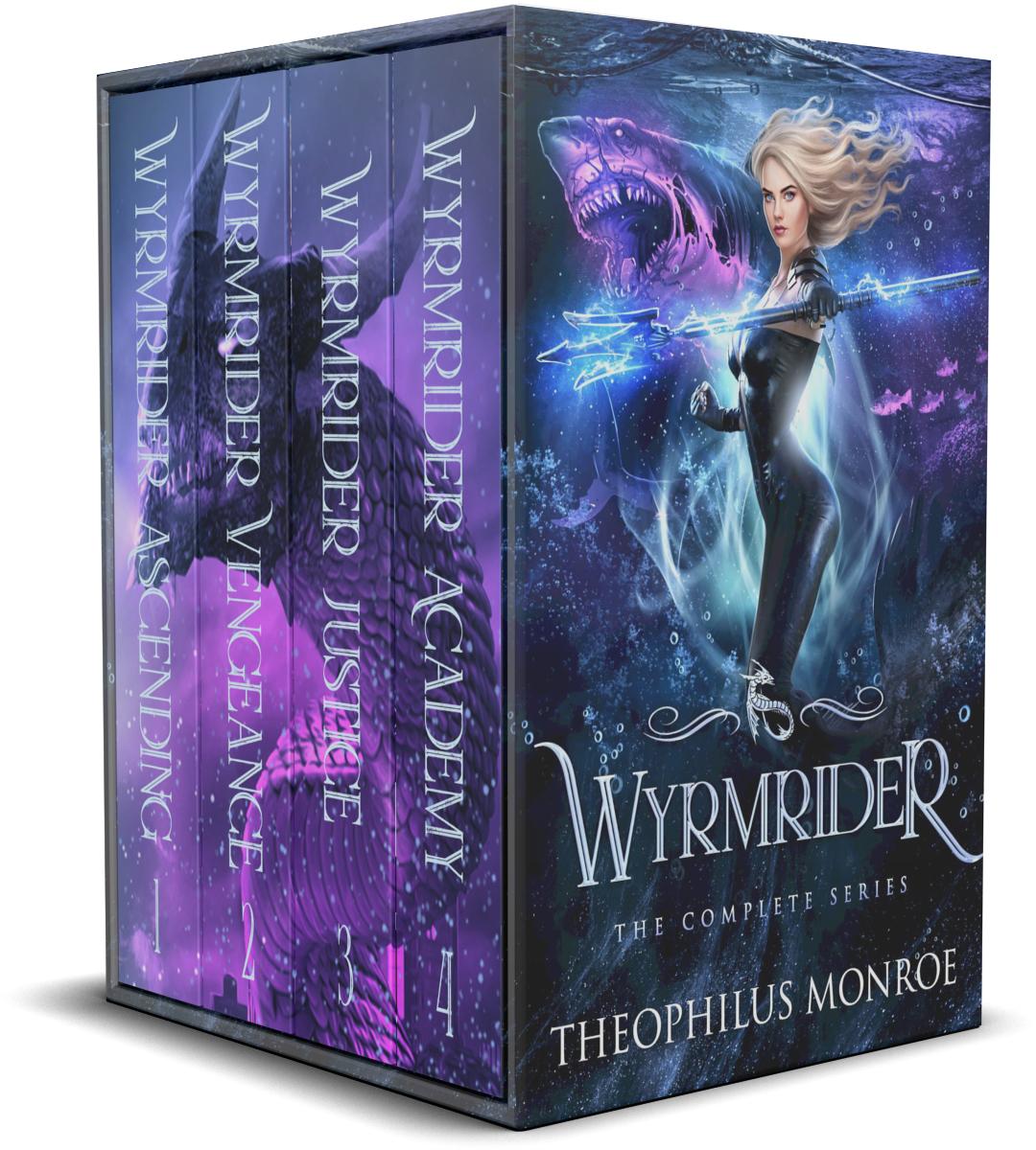 Wyrmrider (Books 1-4)