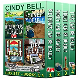 Sage Gardens Cozy Mystery (Boxed Set) by Cindy Bell